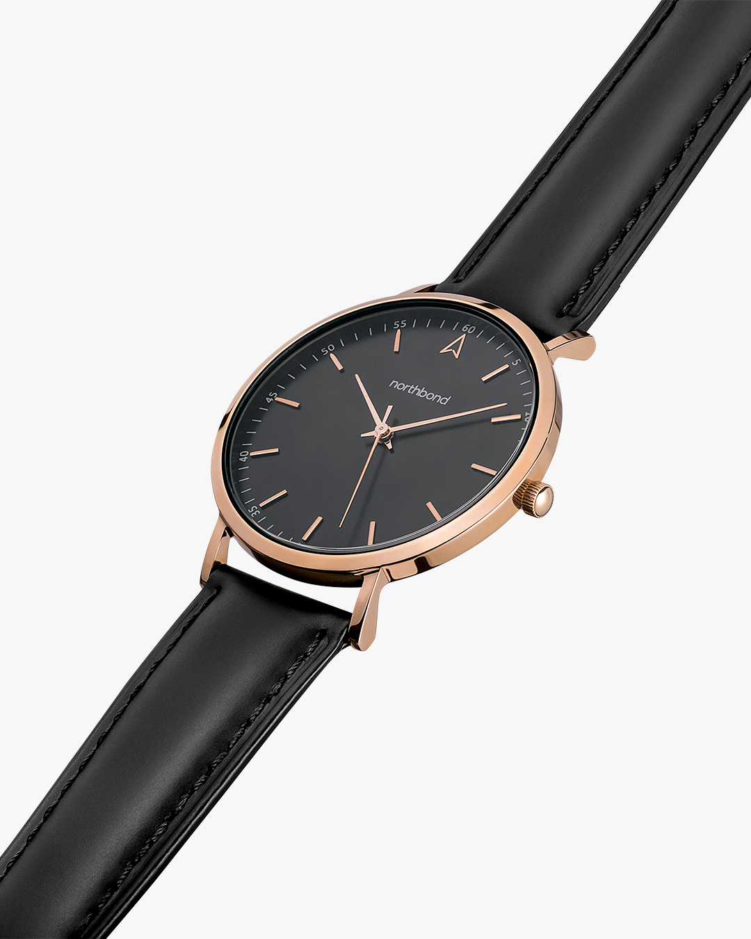 noir watch rose gold