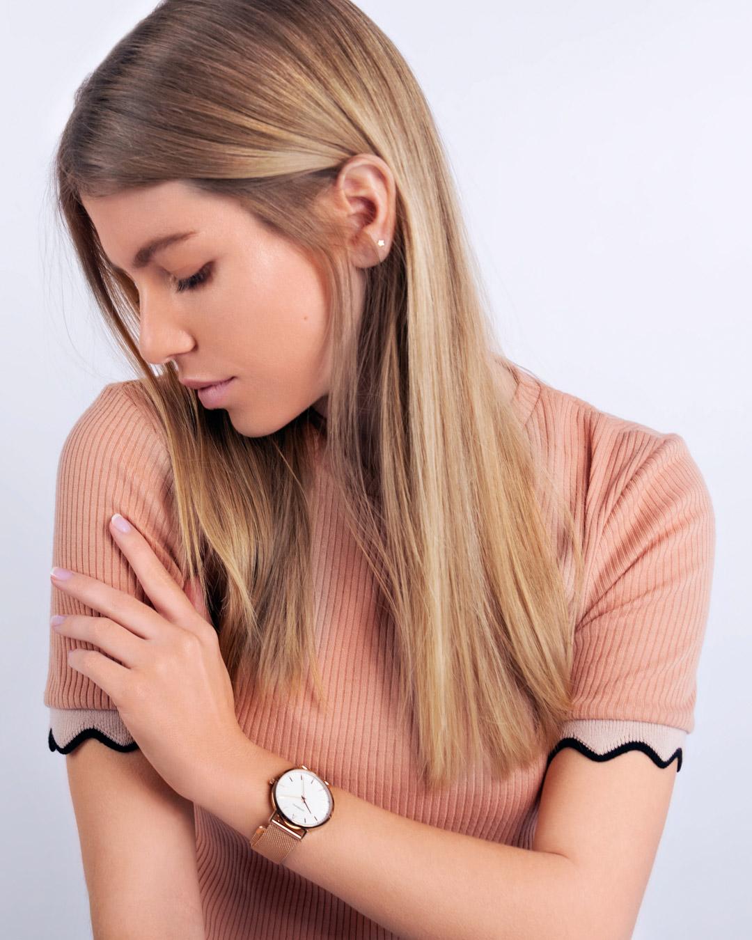 lace watch - fashion model